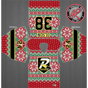 Rha red ugly sweater